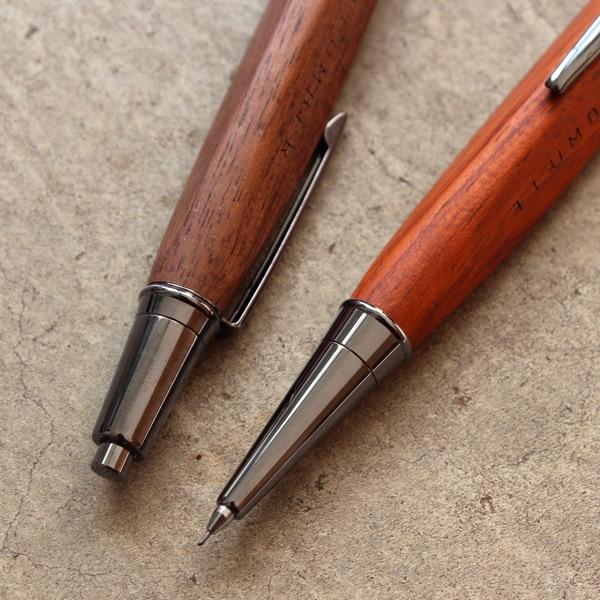 名入れ出来る木製シャーペン