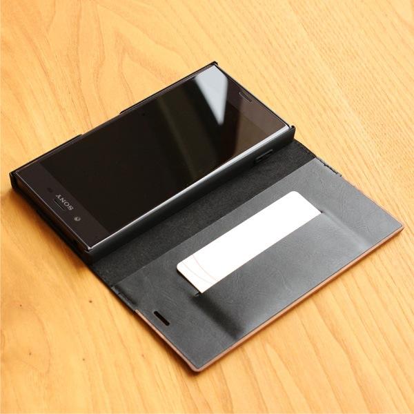 カードが入れられる収納ポケットを1つご用意