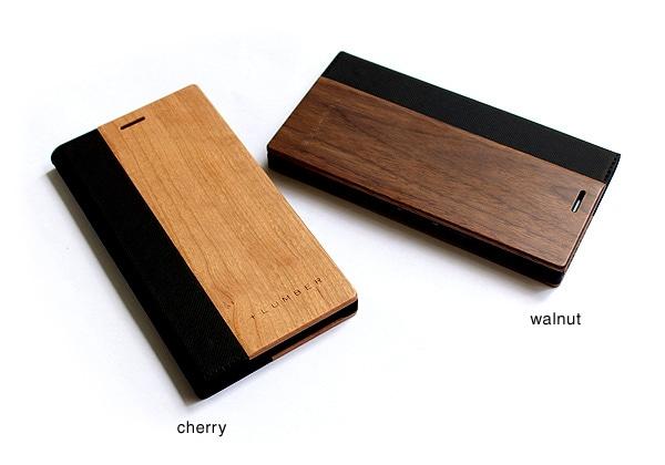 チェリー・ウォールナットの天然木板材をアクセントとしてプラス