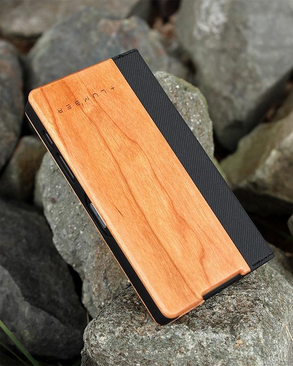 手帳型の木製スマートフォンケース Xperia™ Z5コンパクト専用