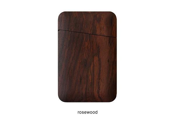 高級木材ローズウッドの木製名刺入れ・カードケース