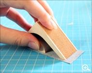 Hacoaブランドのデザインテープカッター「Ki-de-Kiru」