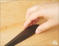 木製ペーパーナイフ