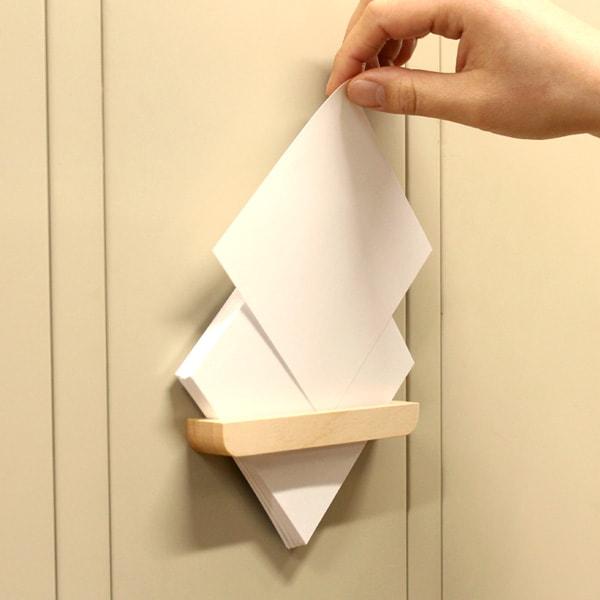 メモを壁面に貼り付けて省スペース