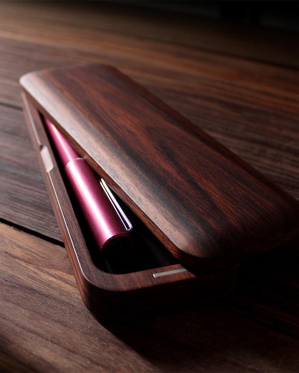 機能とデザイン性を備えたおしゃれな木製筆箱・ペンケース