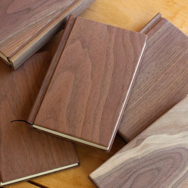 世界に1つの可愛い木製ノート