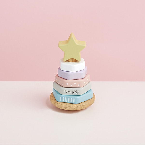 パステルカラーの優しい配色はインテリア雑貨としてお部屋にも飾っておけます。