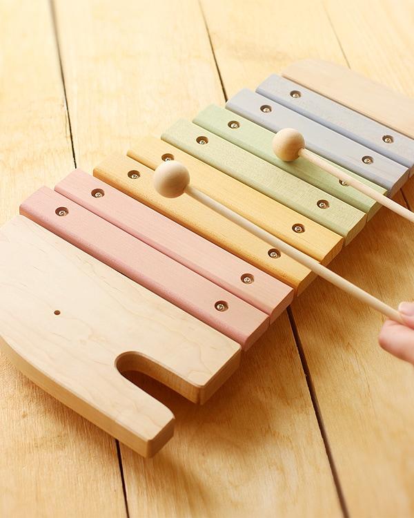 日本製にこだわった、やさしい音色が鳴る木製シロフォン・木琴