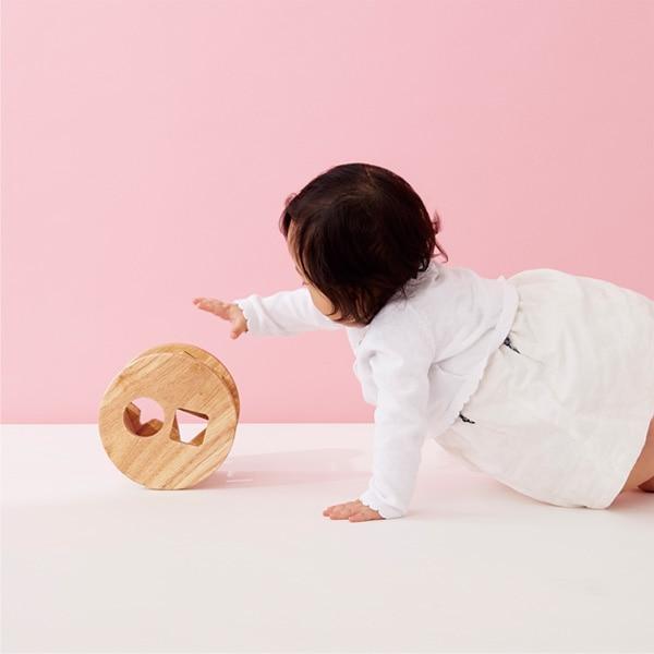 様々な遊び方ができるため、どの月齢のお子さまにもお楽しみいただけます。