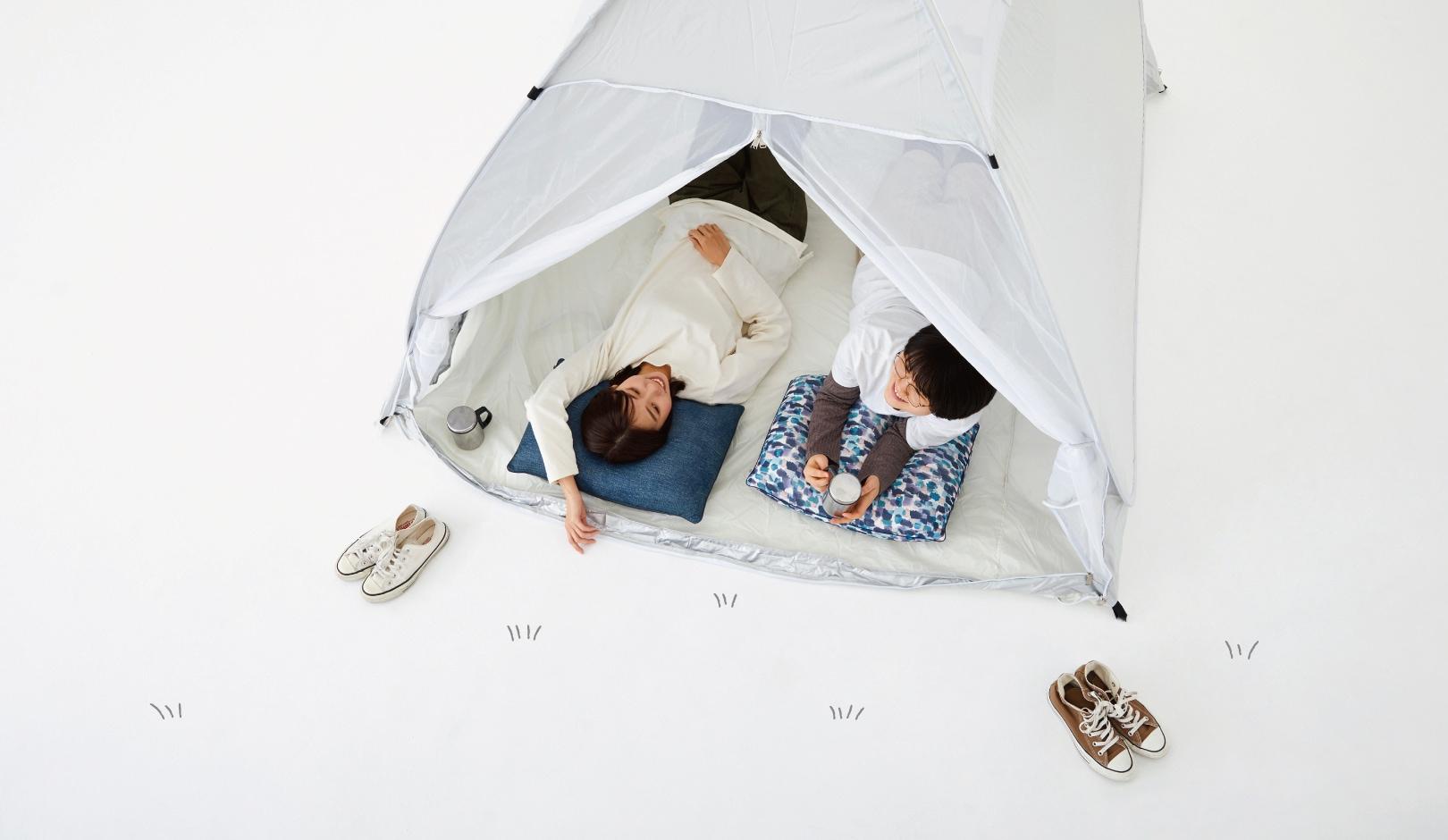 はぎもの舎とキャンプ