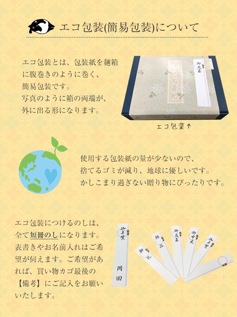 エコ包装について