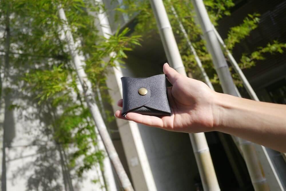 本革 コインケース レザー ボックスコインケース