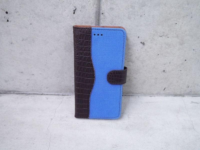 本革 レザー キャンバス iPhoneケース