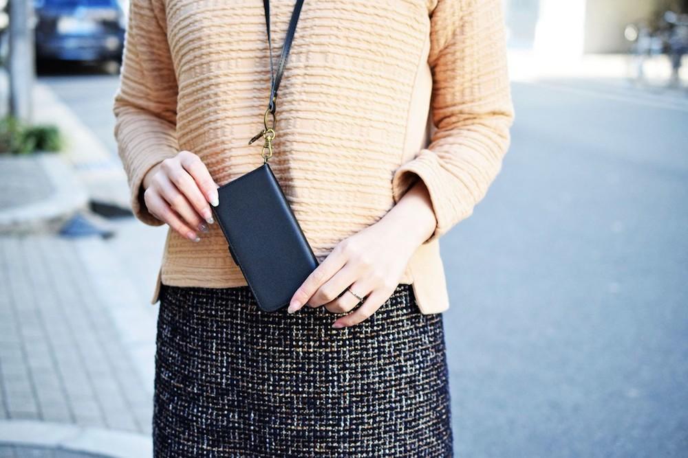 iphone ケース ストラップ スマホ メンズ レディース 本革