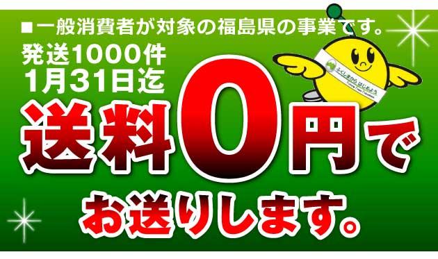 福島県送料無料事業
