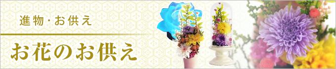 感謝の心を添えてお届けしませんか。「進物花のお供え」熨斗掛け・包装無料・進物対応いたします。