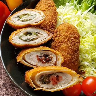 しそまきとんかつ(梅、チーズ)イメージ