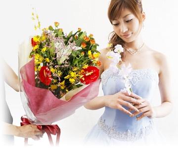 お祝い - 花束