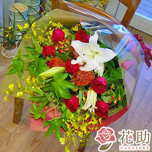 お祝い花束 8000円