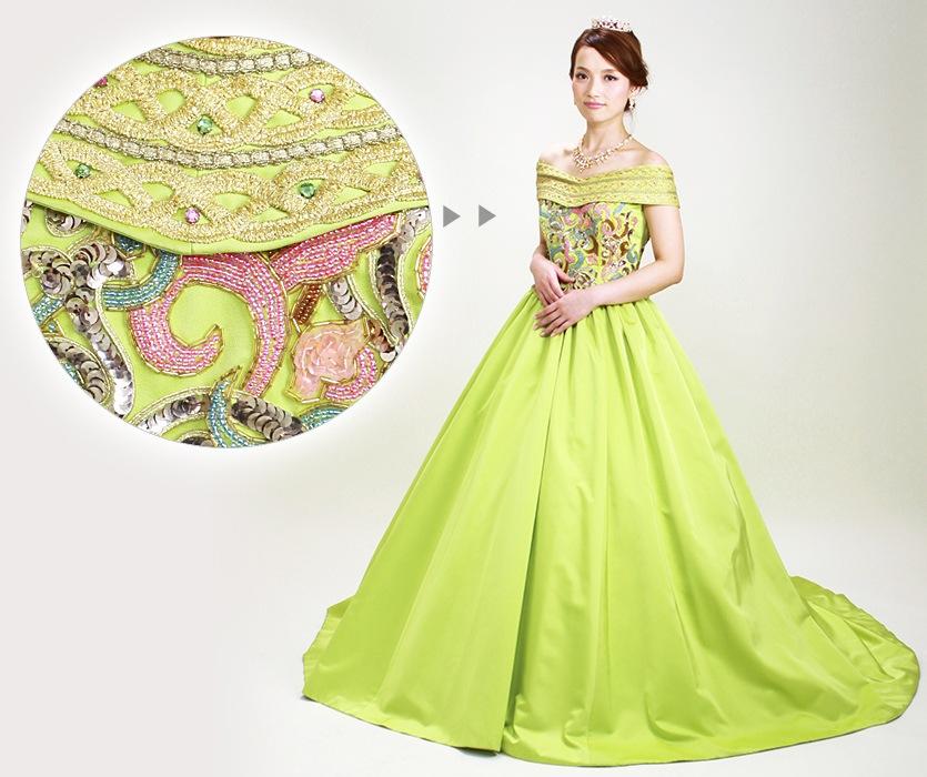 カラードレスレンタルの商品画像