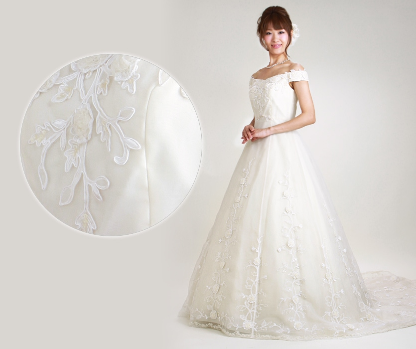 ウェディングドレスの商品画像