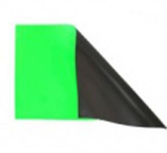 反射じゃなく蛍光マグネット 150mm×240mm グリーン色