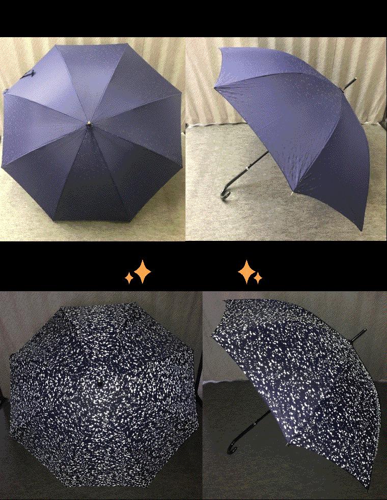 大人用の反射する傘