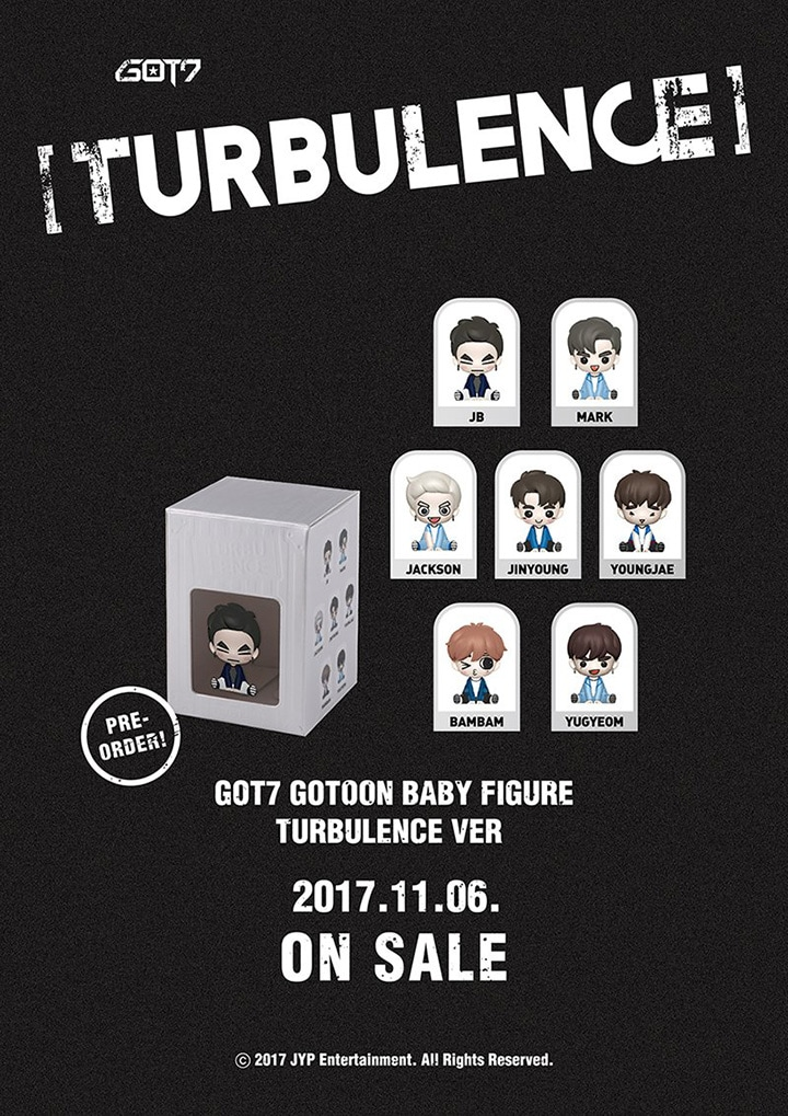 GOT7 Gotoon Figure