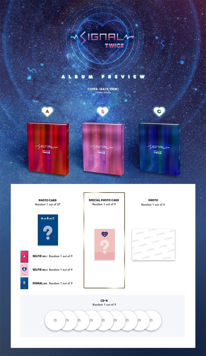 TWICE 4th Mini Album SIGNAL
