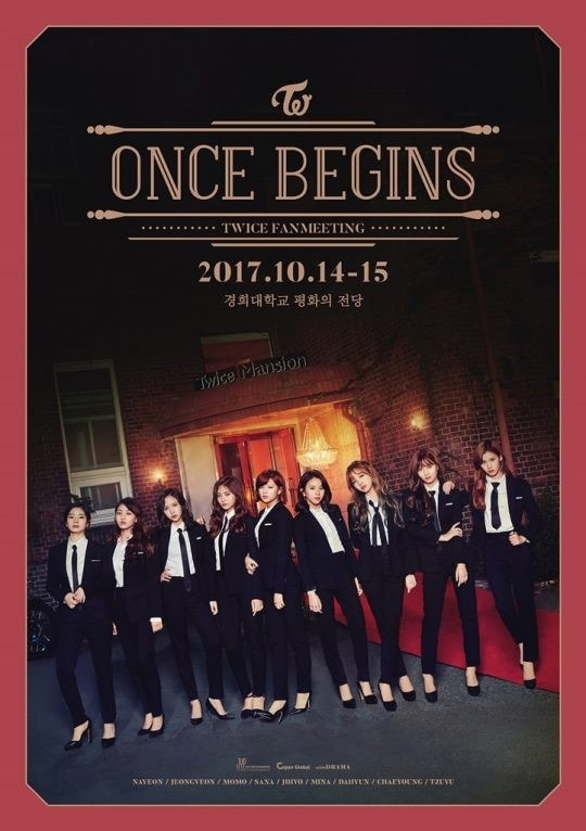 TWICE ONCE BEGINS