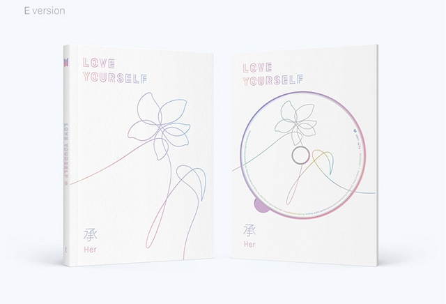 BTS CD LOVE YOURSELF