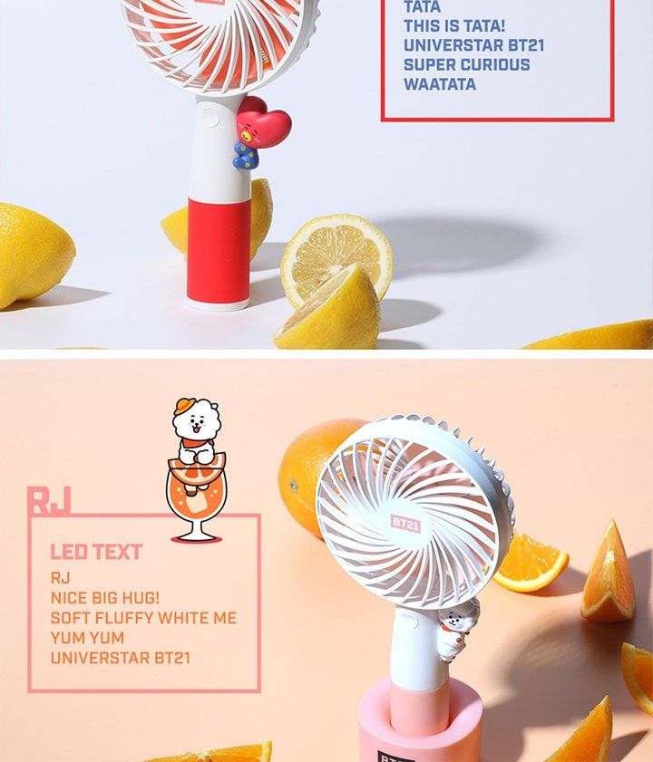 bts 防弾少年団 bangtan led handy fan