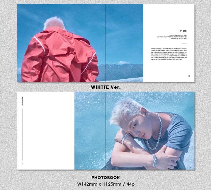 【BIGBANG】ビックバン TAEYANG 3RD ALBUM | WHITE NIGHT