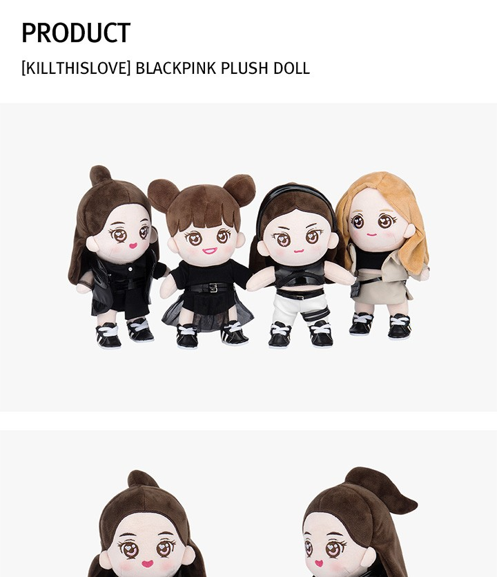 blackpink official goods plush doll