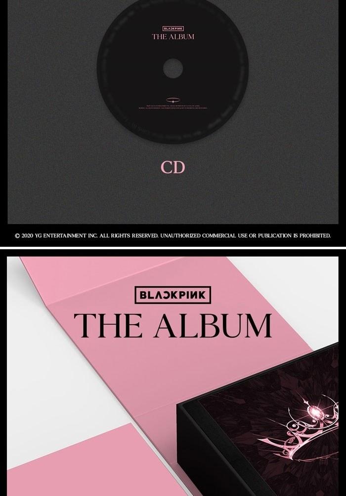 blackpink 1st album the album