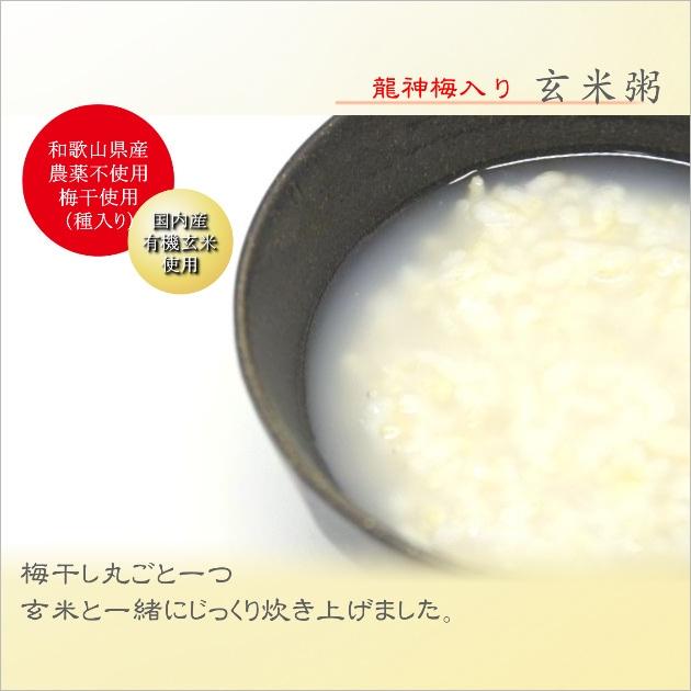 龍神梅玄米粥