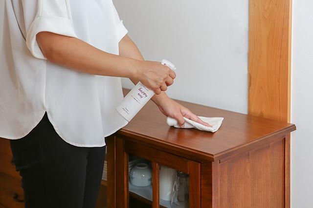 家具の除菌・洗浄に
