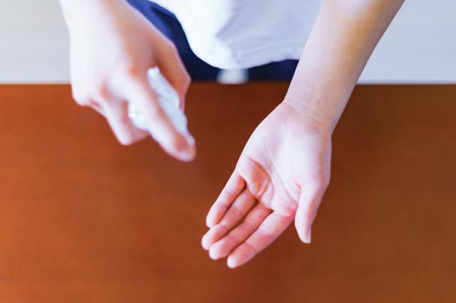 手肌の弱い方へ、アルコール除菌の代わりに