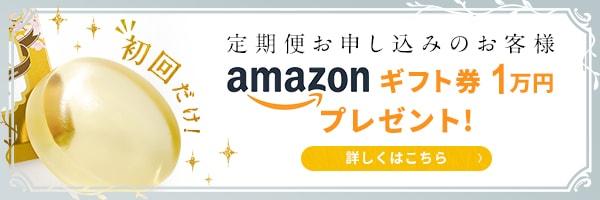 定期便お申し込みのお客様 アマゾンギフト券1万円プレゼント
