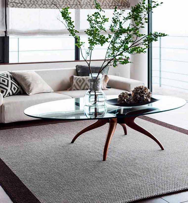 川島織物セルコン、ラグコレクションのFR1450