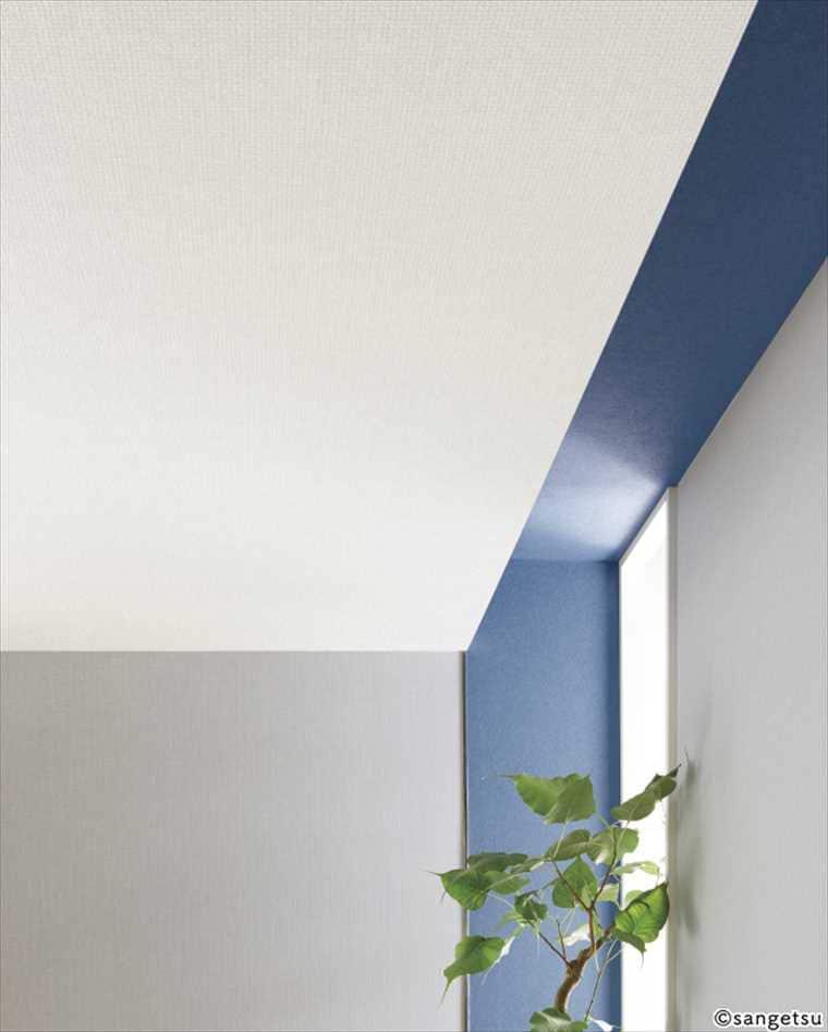 サンゲツファインFE6294クロスの施工イメージ 天井