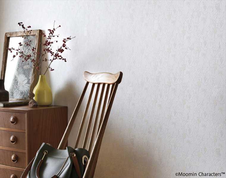 サンゲツファインFE6308クロスの施工イメージ MOOMIN(ムーミン)
