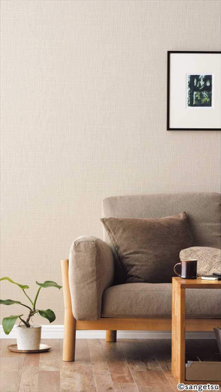 サンゲツリザーブRE51129の施工イメージ