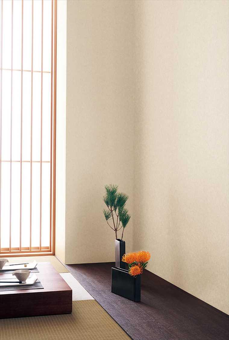 シンコール、エスエルプラスの壁紙和調 を貼った部屋