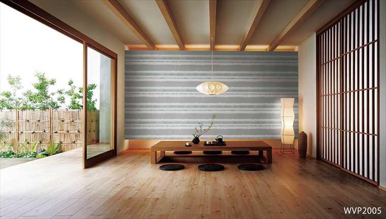 東リ、パワー1000の壁紙、WVP2005を使った施工例
