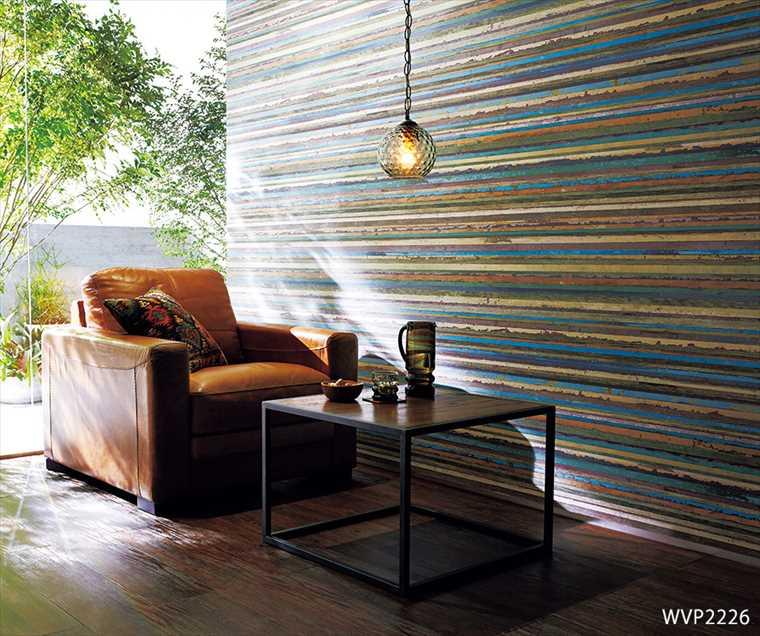 東リ、パワー1000の壁紙、WVP2226を使った施工例