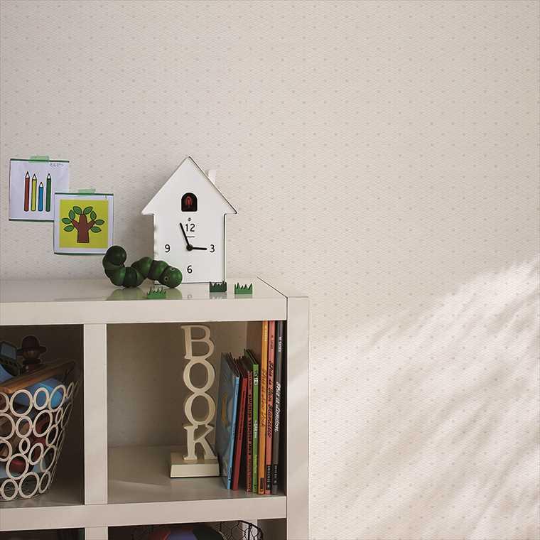 東リ住まいの壁紙100選のWVC758を貼った部屋