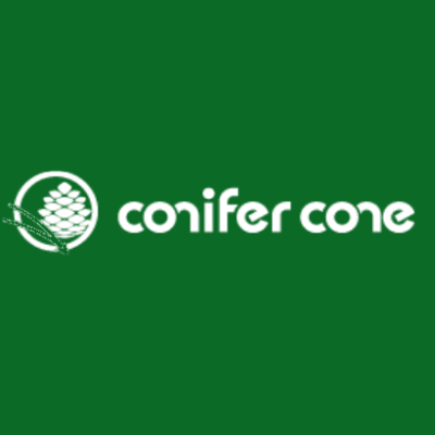 conifer cone LOGO