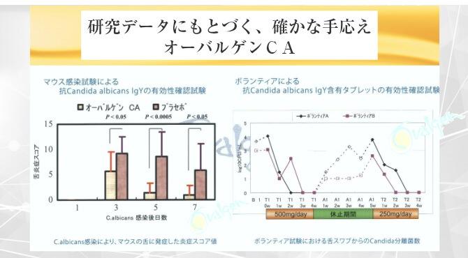 カンジタ菌研究データ