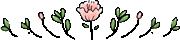 イラスト花飾り